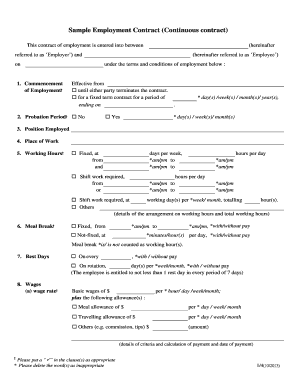 Fillable sample letter from employee for mutual separation