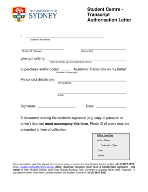 Letter Of Authorization To Collect Documents from www.pdffiller.com