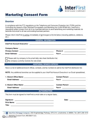 Free marketing plan template excel edit fill print download marketing consent form interbankwholesalecom spiritdancerdesigns Gallery