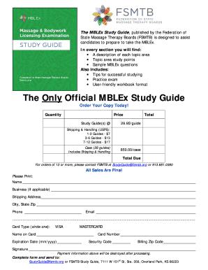 fillable online fsmtb the only official mblex study guide home rh pdffiller com mblex study guide app mblex study guide abmp
