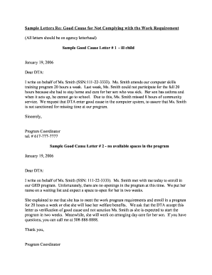 sample letter of request for transportation services - Fillable