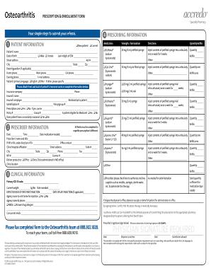 prescription enrollment form four simple steps to submit