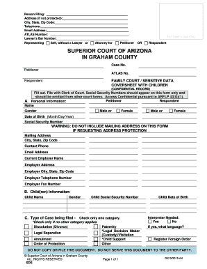 image relating to Free Printable Qdro Forms named DIVORCE WITH Minimal Kids For Peioner Simply In direction of Record Fill