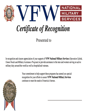 Certificate of appreciation content printable governmental certificate of recognition vfw yadclub Image collections