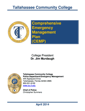 Fillable emergency response checklist template Templates to