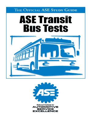 ase transit bus study guide