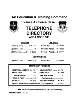 Fillable 580 area code Samples to Complete Online in PDF