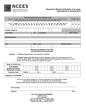 transcript request form ncees - Edit & Fill Out Online Templates, Download in Word & PDF ...