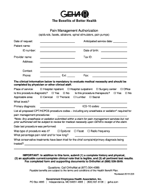 Printable geha medical claim form - Edit, Fill Out & Download ...