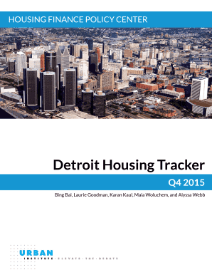 fillable online urban housing finance chartbook urbanorg fax email