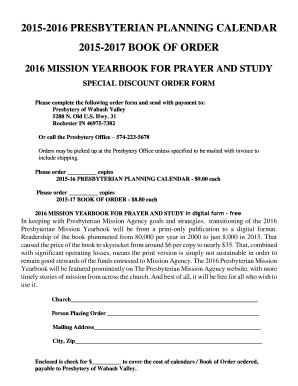Book of order pcusa pdf