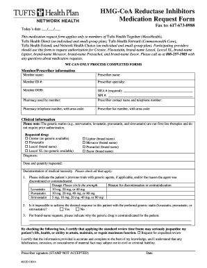 Submit tufts health plan network health medication request
