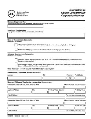 Corporate bylaws template fill out online forms templates information to obtain condominium corporation number pronofoot35fo Image collections