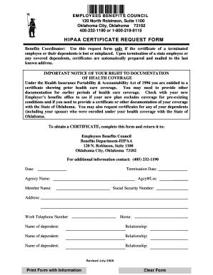 Hipaa form for employees - Fill Out Online Documents for