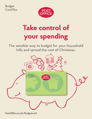 Take control of your spending - Post Office Ltd