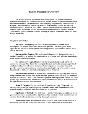 sample literature review example