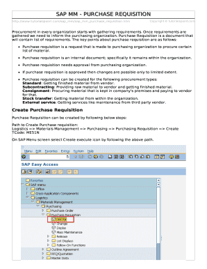Printable sap work order tcode - Edit, Fill Out & Download