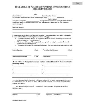 Grade Appeal Letter