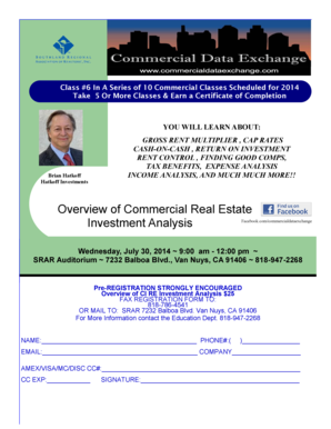 Overview of Commercial Real Estate Investment Analysis