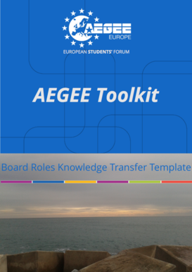 Board Roles Knowledge Transfer Template - AEGEE-Europe
