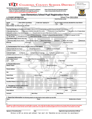 School high best photos of printable patient registration forms best lyon elementary school registration form template 4 19 2015 thecheapjerseys Gallery