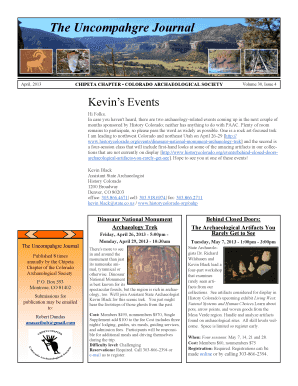 The Uncompahgre Journal - Chipeta Chapter - chipetachaptercas