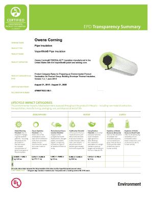 owens corning fiberglas pipe insulation  sc 1 st  PDFfiller & Owens Corning Fiberglas Pipe Insulation - Fill Online Printable ...