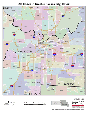 kansas city kansas zip code map Kansas City Zip Code Fill Online Printable Fillable Blank kansas city kansas zip code map