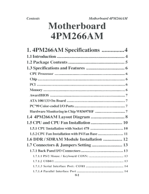 4PMAMN Acorp Motherboard Mainboard Drivers Manuals BIOS