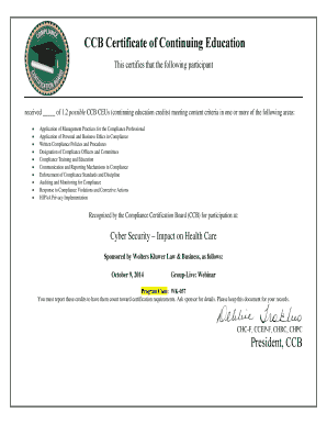 Editable certificate of participation template word fill print certificate of continuing education yelopaper Image collections