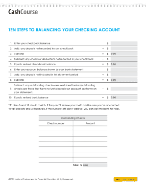 balancing a checkbook worksheet forms and templates fillable printable samples for pdf word. Black Bedroom Furniture Sets. Home Design Ideas