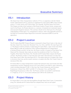 project management summary template