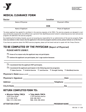 Medical Clearance Form.docx   Missionvalley Ymca