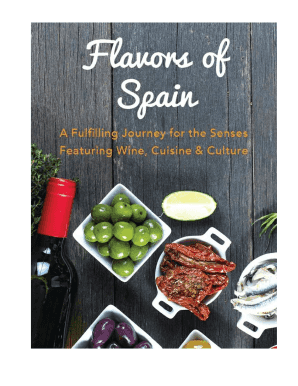 MAY 14 2016 MAY 22 2016 FLAVORS OF SPAIN