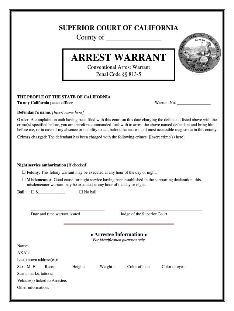 alameda county arrest warrants in california