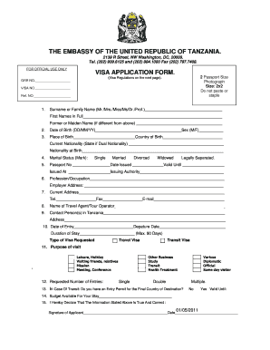 Us visa application form download to Download in Word & PDF