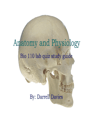 Printable free anatomy and physiology quiz - Fill Out