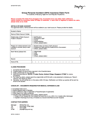 Printable gpa holder rights - Edit, Fill Out & Download ...