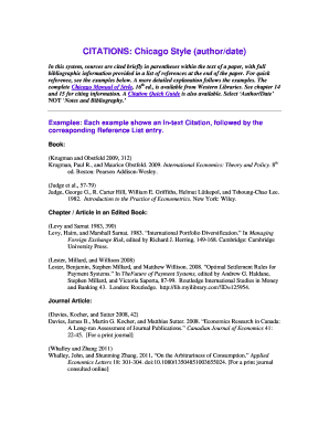 Editable Chicago Style Paper Example To Submit Online