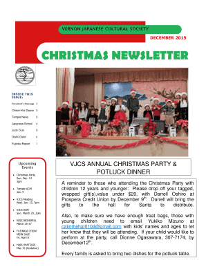 CHRISTMAS NEWSLETTER - www3 telus