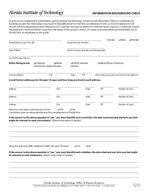 Background check authorization form sample edit fill print background check authorization form sample information background check bfloridatechsportscomb pronofoot35fo Choice Image