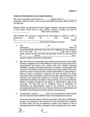 28 Printable Sample Of Bank Guarantee Forms and Templates