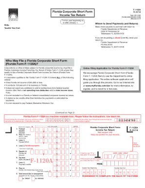 Editable florida single member llc tax filing requirements fill f 1120a r 01 14 finalpdf florida administrative code platinumwayz