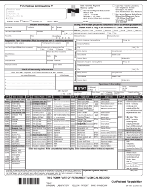 THIS FORM PART OF PERMANENT MEDICAL RECORD OutPatient - nhrmc
