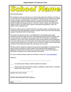 Fillable sample letter to teacher from parent requesting a