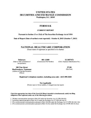 fillable online form 8 k boa credit agreement national