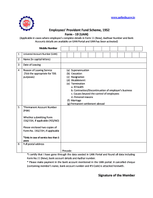 New epf withdrawal forms claim without employer's sign.