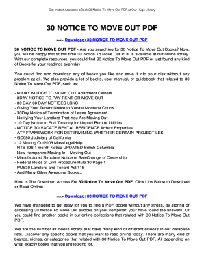 notice to end tenancy form bc - Edit, Fill, Print & Download Online
