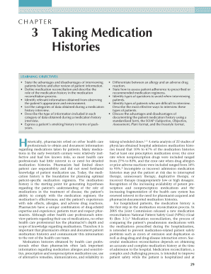 Printable medical history taking format - Edit, Fill Out