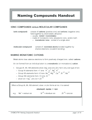 Fillable Online wolgemuthe psd401 Naming Compounds Handout ...